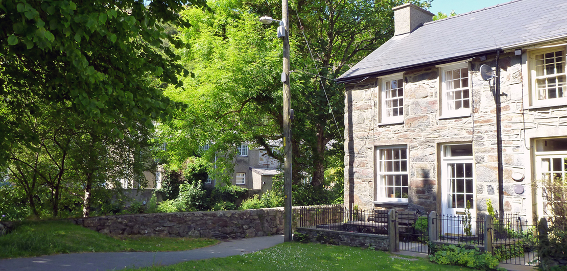 Self catering holiday cottages in Beddgelert